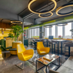 Office space for coworking in commercial real estate, by Tick Property.